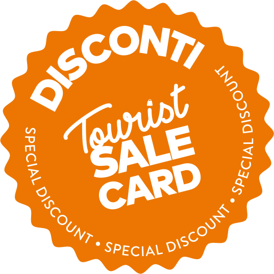 Disconti Tourist Sale Card